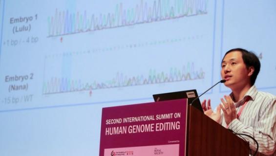 '유전자 편집 아기' 논란 중국 과학자 결국 철창신세