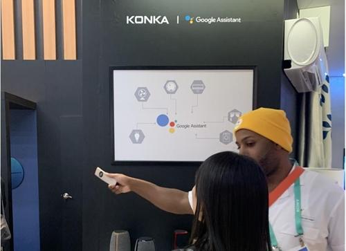 가전 전시장 곳곳에 '구글 가이'…CES, IoT에 빠졌다
