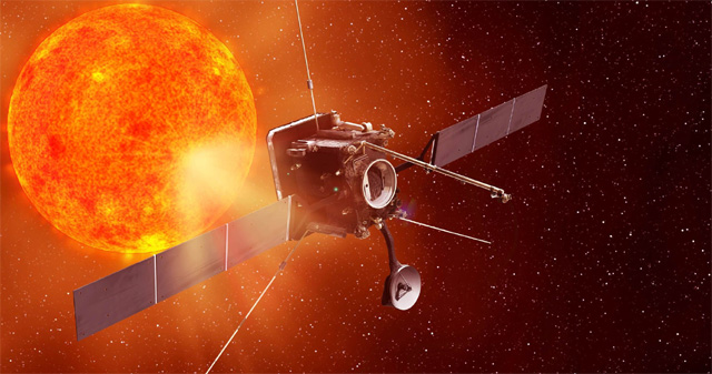 '방·단 갑옷' 입은 태양 극지 탐사선, 600도 고열 속으로!