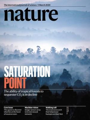 [표지로 읽는 과학]아마존과 아프리카 탄소 흡수능력을 잃다