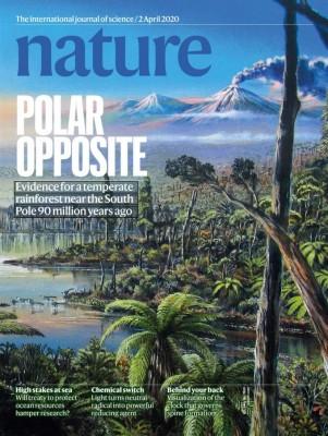 [표지로 읽는 과학] 9000만 년 전 남극, 얼음 대신 숲으로 뒤덮여 있었다