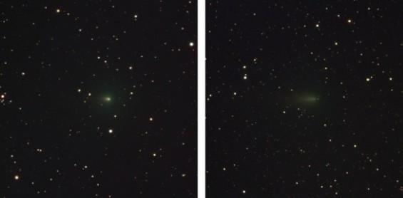 지구와 가까지워지며 급격히 빛 잃은 '아틀라스 혜성'
