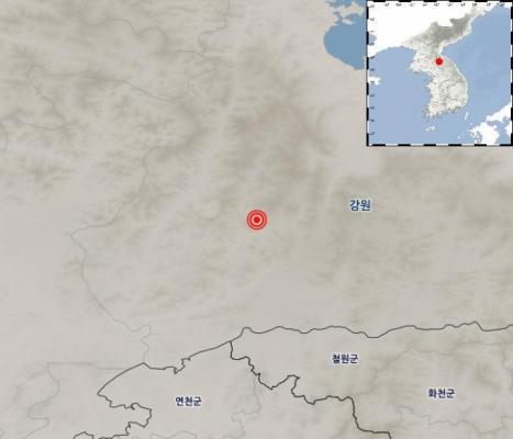 북한 평강군 북북서쪽 32km서 규모 3.8 지진…서울·경기·강원 '흔들'