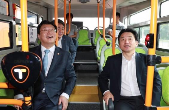 지자체·사업자 나름 명분 있지만…서귀포 전기버스 운행중단 앞두고 팽팽한 신경전