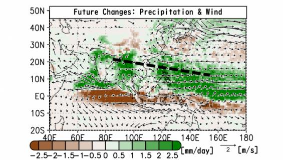 금세기말 아시아엔 큰 비 많이 온다