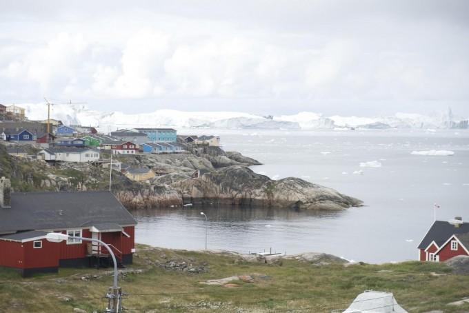 그린란드 일루리사트 지역의 빙하 모습이다. 지난해 미국 알래스카대의 연구 결과에 따르면, 이 빙하는 바다로 떨어져 계속 사라지고 있다. 알래스카대 제공