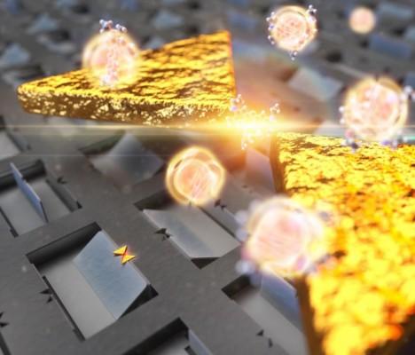 단분자 검출하는 나노안테나 기술 개발