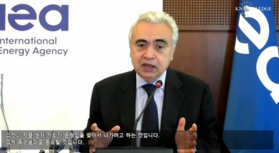 """IEA사무총장 """"탈원전하려면 에너지 안보·대체 에너지 고려해야"""""""