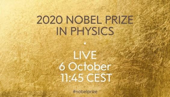 [생중계] 2020 노벨 물리학상 수상자 오후 6시 45부터 발표