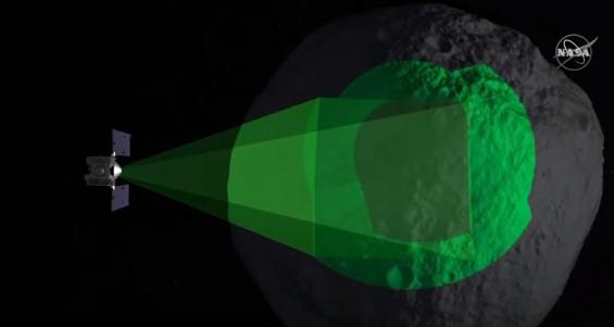 [영상]NASA 탐사선 '오시리스-렉스' 소행성 베누 암석 샘플 채집 성공
