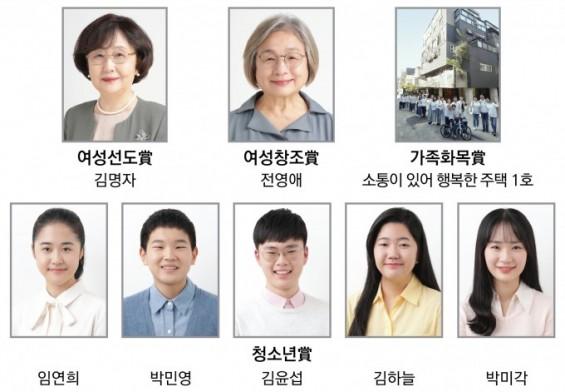 삼성행복대상 여성선도상에 김명자 서울국제포럼 회장