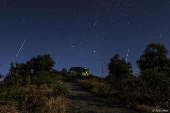 13~14일 밤하늘 소행성이 남긴 별똥별 쏟아진다