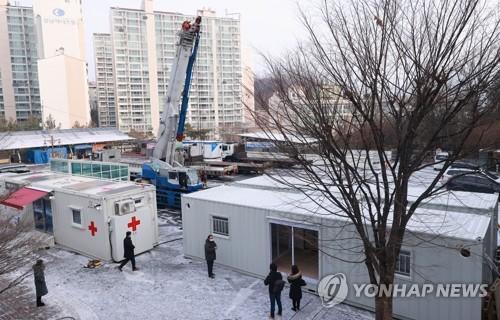확진자 급증에 수도권 중환자 가용병상 현재 3개…서울은 '0개'