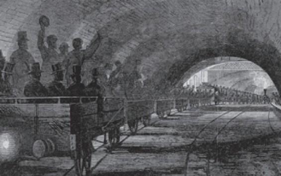 [잠깐과학] 세계 최초의 지하철