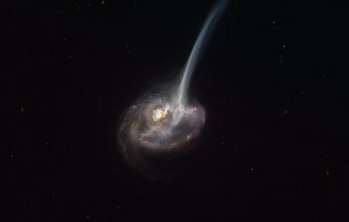 별 만드는 가스 잃으며 '죽음' 향하는 90억광년 밖 은하 관측