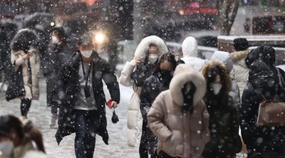 28~29일 태풍급 강풍에 전국 꽁꽁…중부·호남에 많은 눈