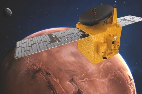 아랍강소국 UAE 화성탐사선, 美·中 제치고 내달 10일 화성 도착