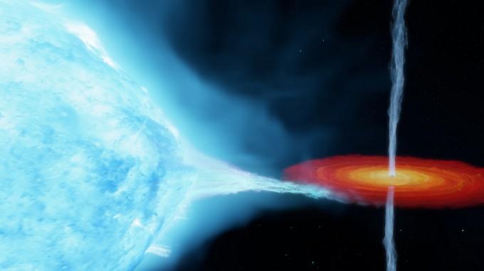 호킹 박사 내기에서 지게 만든 블랙홀, 더 무겁고 더 멀리 있었다