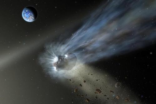 혜성 '카탈리나' 먼지 꼬리서도 '생명체 원소' 탄소 확인