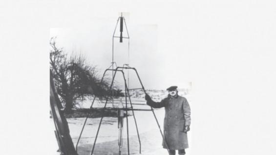 [잠깐과학] '망상가' 비판받은 세계 첫 액체연료 로켓 개발 과학자