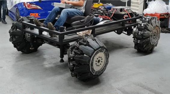도로 상태에 따라 모양 바꾸고 1t 무게도 견디는 '변신 바퀴' 개발됐다