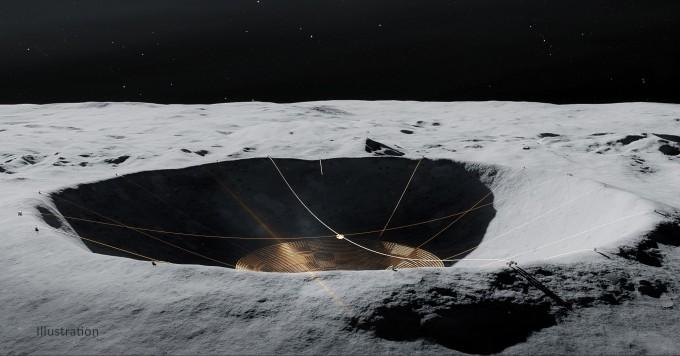 '트랜스포머 로버'로 달 뒷면에 1km 전파망원경 10일 만에 설치