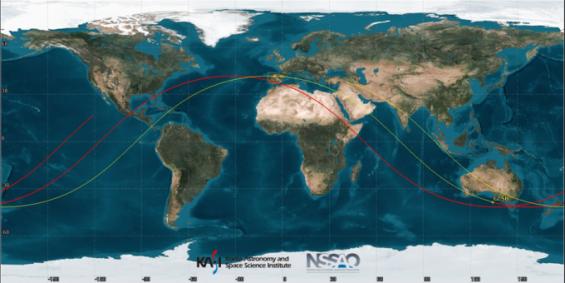 中 20t급 로켓 잔해, 9일 오전 11시 40분경 남태평양 추락…한반도는 영향 없을 듯