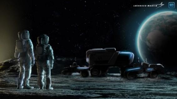 록히드마틴-GM, 우주인 태우고 달 표면 달리는 월면차 개발 손잡았다