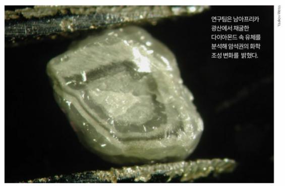 다이아몬드가 밝힌 아프리카 땅의 나이