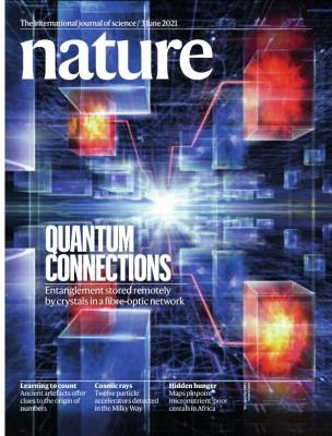[표지로 읽는 과학] 물리법칙이 허락하는 궁극의 통신, 양자 인터넷