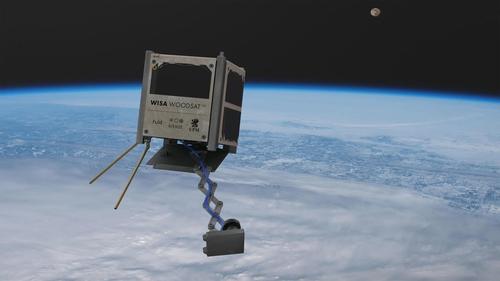 합판으로 만든 첫 위성 '우드샛' 11월 지구궤도 오른다