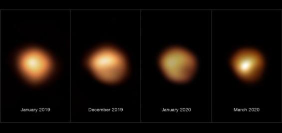 겨울철 밝은 별 베텔게우스가 한때 빛 잃은 이유, 먼지구름 때문이었다