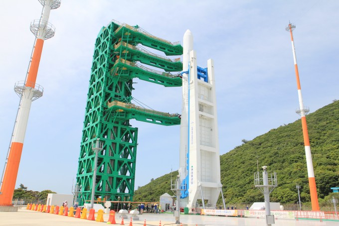 [르포]'누리호' 로켓엔진 만큼 복잡한 발사대
