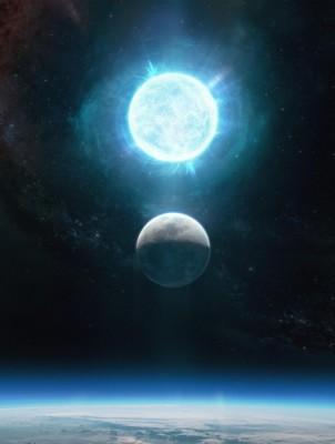 달과 비슷한 크기에 태양 질량 1.35배 '극단적' 백색왜성 확인