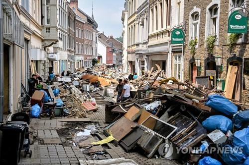 독일 홍수 사망자 166명으로 늘어…
