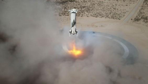 베이조스 탑승한 블루오리진 우주여행 로켓 '뉴셰퍼드'는 어떤 로켓인가