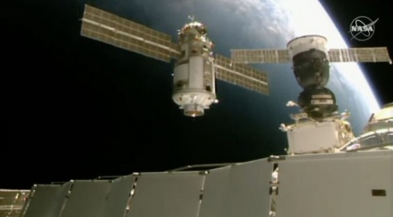 러 우주모듈 '나우카' 도킹 후 ISS 기울어…미 신형우주선 스타라이너 시험비행 연기