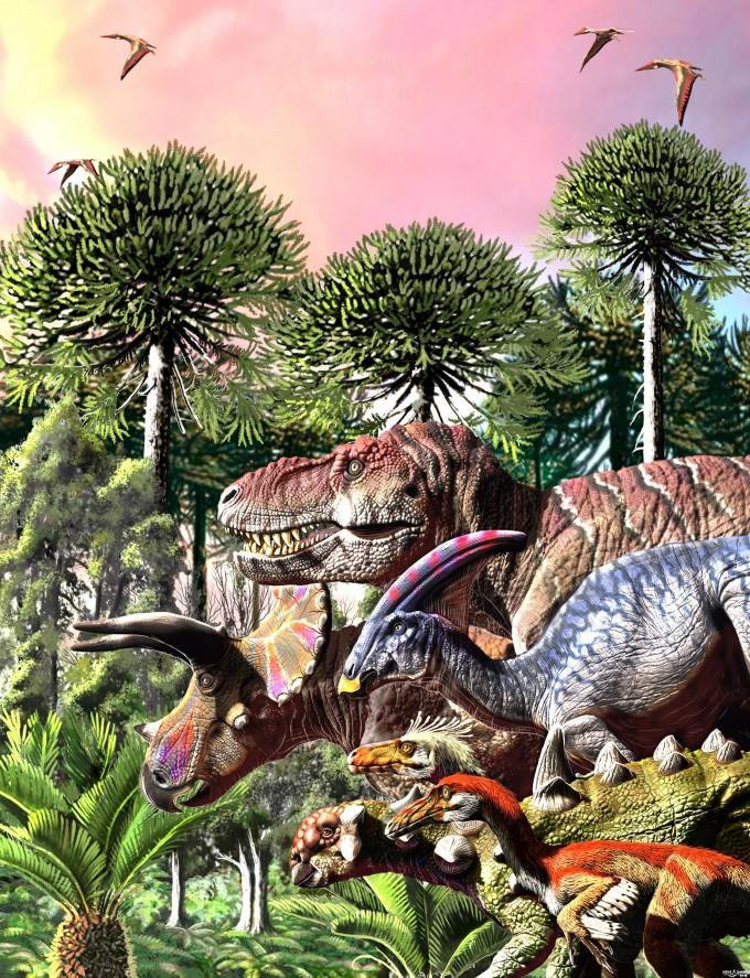 소행성 충돌 1000만 년 전부터 공룡 멸종 시작됐다