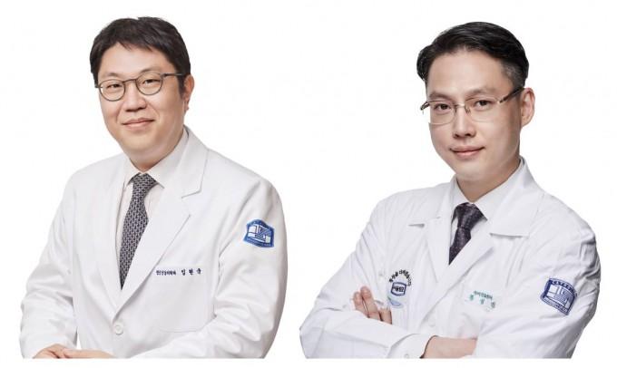 임현국(왼쪽)∙왕성민(오른쪽) 가톨릭대 여의도성모병원 뇌건강센터 교수. 여의도성모병원 제공