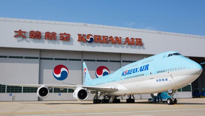 대한항공이 보잉 747-400 기종을 활용해 공중발사체 플랫폼으로 이용하는 연구를 시작한다. 대한항공 제공