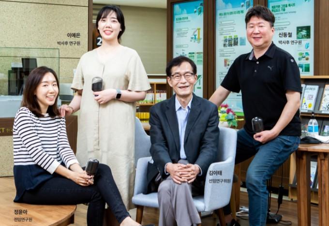 한국건설기술연구원 환경자원재생연구센터 연구진. 남윤중 제공