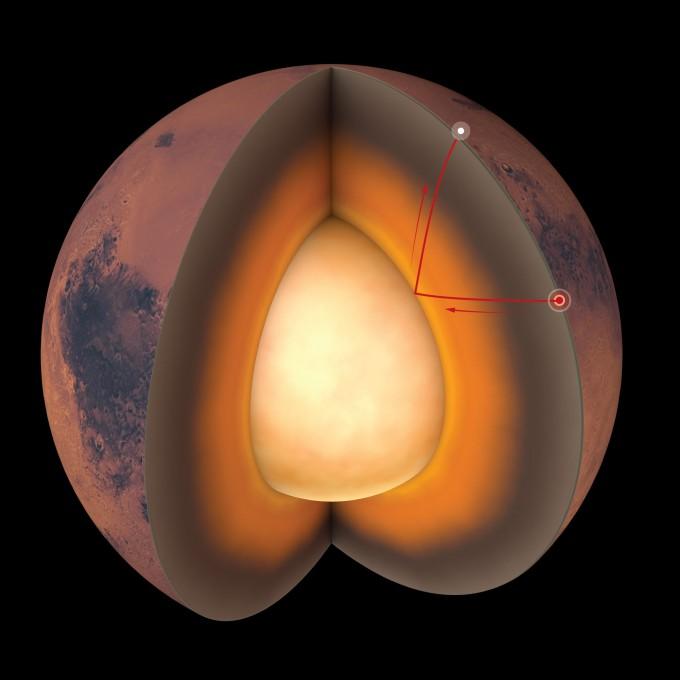 지구 밖 첫 지진파 연구로 화성 내부 구조 알아냈다