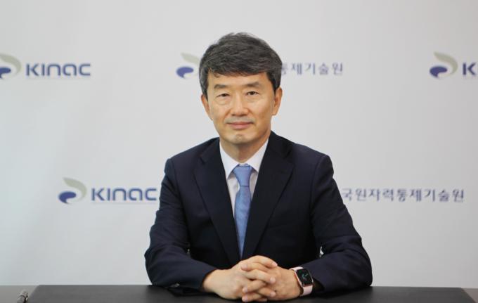 황용수 한국원자력통제기술원 신임 원장. 한국원자력통제기술원 제공
