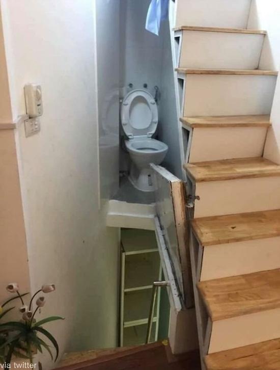 너무나 위험한 화장실