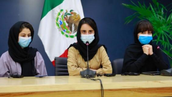 아프간 탈출한 여학생 로봇팀 멕시코 도착