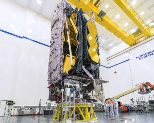 D-60, 15년 미뤄진 인류 최대 우주망원경 마침내 발사장으로