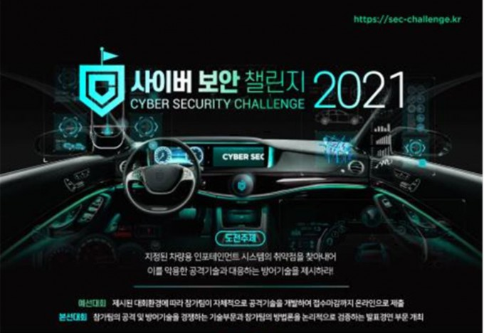 과학기술정보통신부는 2일부터 내달 15일까지 '2021년도 사이버보안 챌린지 대회' 참가팀을 모집한다고 1일 밝혔다. 과기정통부 제공