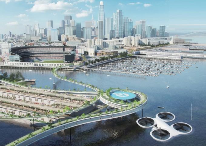 유럽의 항공기 제조사 에어버스가 스위스 취리히연방공대, 그리고 건축·대중교통·항공 관련 기업들과 함께 새로운 모빌리티가 적용된 미래 도시의 모습을 그렸다.
