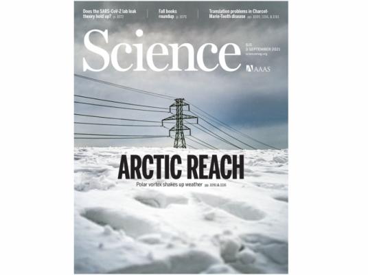 [표지로 읽는 과학] 극한의 한파 유발하는 북극 기후변화
