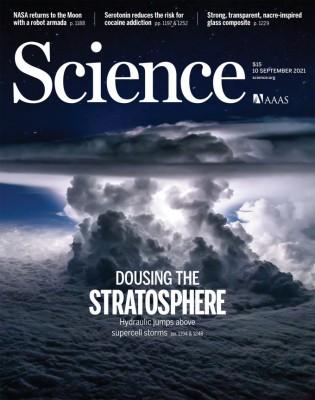 [표지로 읽는 과학] 성층권에 수증기 쏟아붓는 거대 뇌우
